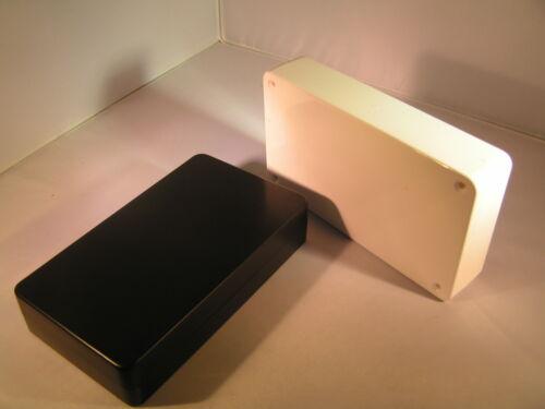 Project box abs 143 x 82 x 30mm BM11 choix de noir ou blanc OL0314