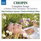 Chopin: Complete Songs (CD, Nov-2010, Naxos (Distributor))