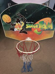 più recente comprare popolare consegna gratuita Space Jam Door Hanging Basketball Hoop Backboard Michael Jordan ...
