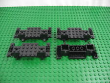 LEGO Car Truck BLACK VEHICLE BASE 4x7x 2//3 w//Tires Wheels