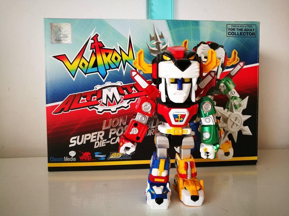 giocattolonami Voltron 30th Anniversary Super Deformed Poseable Diecast