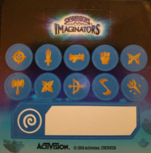Air Skylanders imaginators imaginite Classe Autocollants seulement!