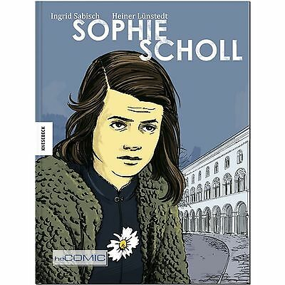 Sophie Scholl Weiße Rose Widerstand Faschismus 2.WK Graphic Novel COMIC 30er