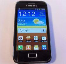 Samsung Galaxy Ace Plus GT-S7500 - 3GB - Black (Unlocked) Smartphone Mobile