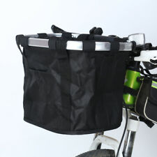 facf5d42855 Foldable Basket Cycling Front Bicycle Carrier Handlebar Bag Quick Release  Basket