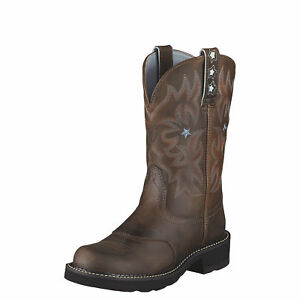 Ariat-10001132-Probaby-10-034-Thick-Sole-Western-Style-Cowgirl-Riding-Work-Boots