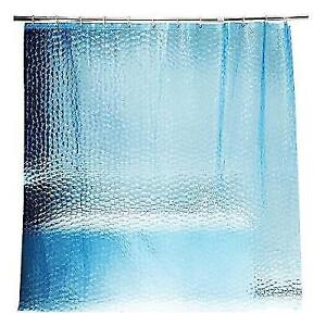 10 Guage Design Clear Shower Curtain Liner Adwaita Heavy Duty Eva