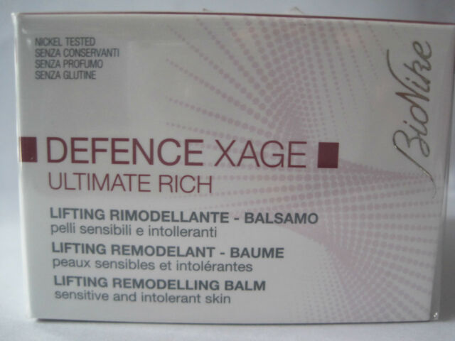 BIONIKE DEFENCE XAGE Balsamo lifting rimodellante Ultimate Rich - Vaso 50 ml