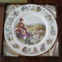 Wedgwood Beatrix Potter Ltd Edition Plate Peter Rabbit