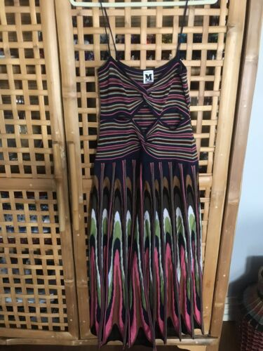 Missoni Maxi Knit Cut out dress