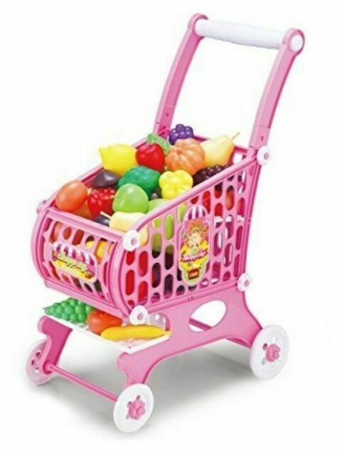 Hoopla Toys Kids Toddler Toy Shopping Cart 48piece Play Set Children S Game For Sale Online Ebay