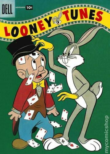 Looney Tunes and Merrie Melodies 193-10C VG 1957 Stock Image Low Grade