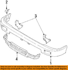 toyota oem 89 95 pickup front bumper stay support bracket 5214589102image is loading toyota oem 89 95 pickup front bumper stay