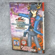YU GI OH 5D's World Championship 2010 Perfect Duel Game Guide Japan Book DS VJ*