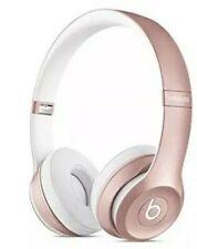 Beats By Dr Dre Solo 2 Wireless Headband Wireless Headphones Rose Gold For Sale Online Ebay