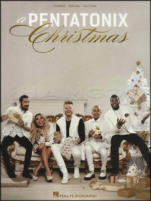 A Pentatonix Christmas Piano Vocal Guitar Sheet Music Book Hallelujah Xmas Quality And Quantity Assured
