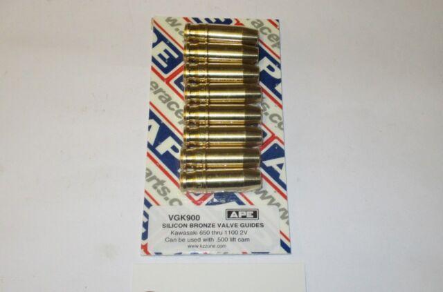 Kawasaki GPZ1100 81-86 APE bronze ally replacement performance valve guides