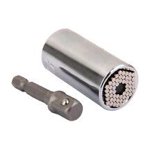 2Pcs Universal Socket Adapter + Power Drill Adapter Hand Set Tools