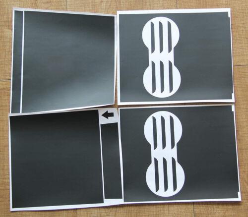 Matte Black Console  Vinyl Wrap Cup Top and Center PPF for Tesla Model 3