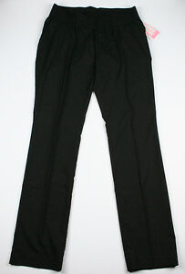 New-Womens-Maternity-Pants-Black-Straight-Leg-Liz-Lange-NWT-Sz-Size-S-M-XL