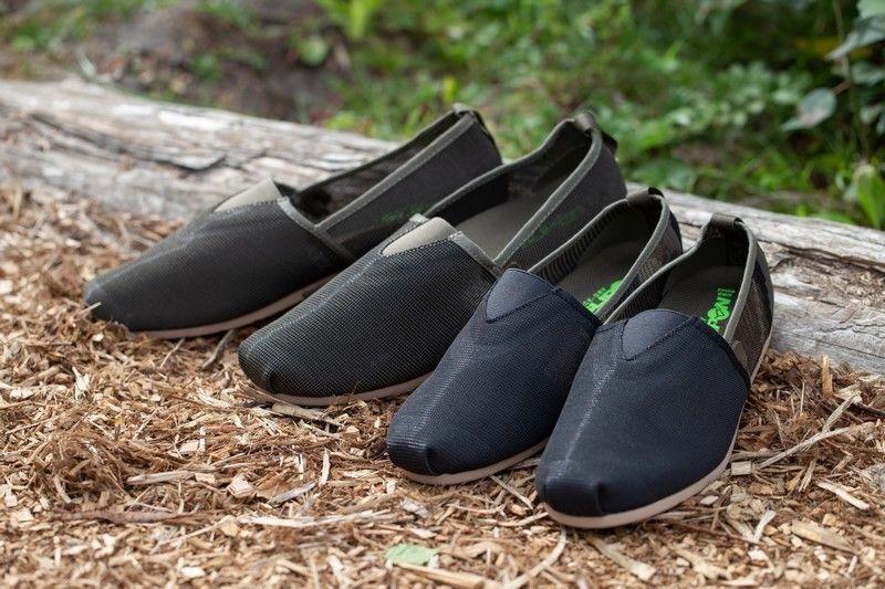 Korda KORE Slip on Calzature nere Kamo & Olive Quick Dry calzature NUOVO pesca della carpa