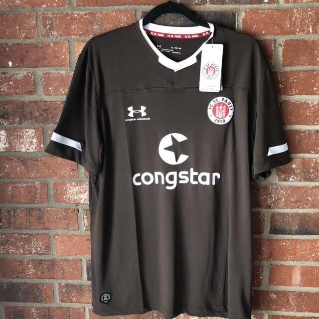 Under Armour Official Kids FC St Pauli Third Football Shirt Jersey Top 2019-20