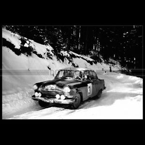Photo A.004287 GAZ ГАЗ-21 Волга RALLYE MONTE-CARLO 1964 Car Auto