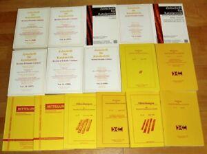 16x-Zeitschrift-fuer-Katalanistik-1990er-Romanistik-Register-1-20-Mitteilungen