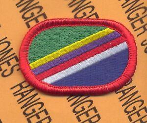 4th Civil Affairs Bn CAPOC Airborne para oval patch