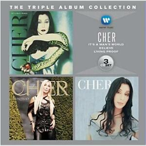 CHER-TRIPLE-ALBUM-COLLECTION-3-CD-NEW