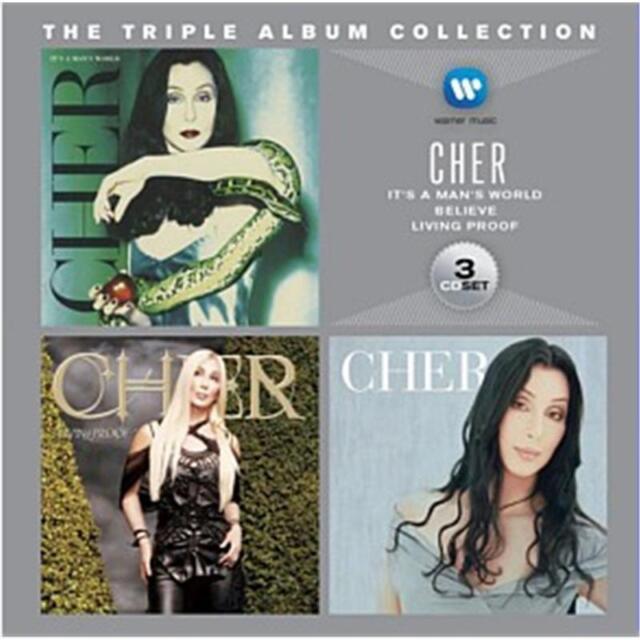 Cher Triple Album Collection 3 CD NEW