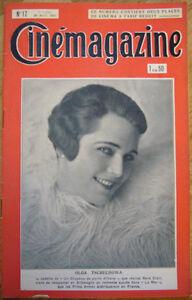 CINEMAGAZINE-n-17-Moskoujine-OLGA-TSCHECHOWA-1927