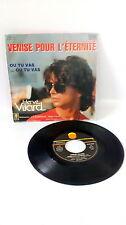 """45 tours HERVE VILARD """"Venise Pour L'éternité  vinyles vintage musique 80s"""