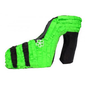 GREEN-HIGH-HEELED-SHOE-PINATA-BIRTHDAY-OR-PARTY-GAME-DECORATION