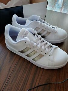 Grand Court Sneakers Size 8.5 US White