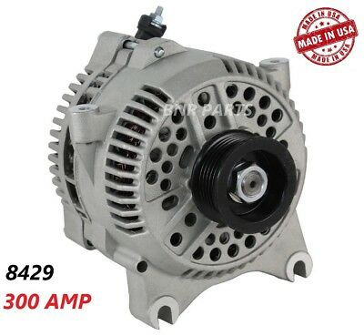 200 Amp High Output Heavy Duty NEW Alternator Ford F450  F550 Super Duty 6.8L