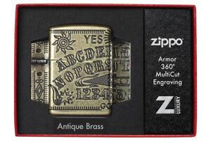 ZIPPO-Ouija-Board-Hexenbrett-Feuerzeug-Multicut-Tiefengravur-60004897