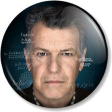 """Fringe Walter Bishop 25mm 1"""" Pin Button Badge TV Series Walternate John Noble"""