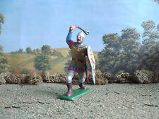Supreme Medieval Russian knight attacking with mace 60mm painted