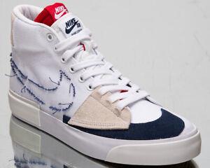 Nike-Sb-Zoom-Blazer-mi-Bord-Hack-Paquet-Homme-Blanc-Minuit-Marine-Baskets-Shoe