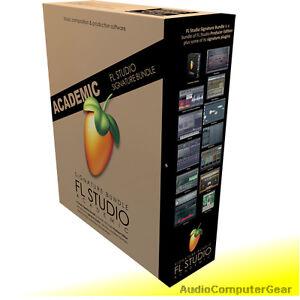 Image Line FL STUDIO 20 SIGNATURE BUNDLE Software DAW Edu Full Retail NEW