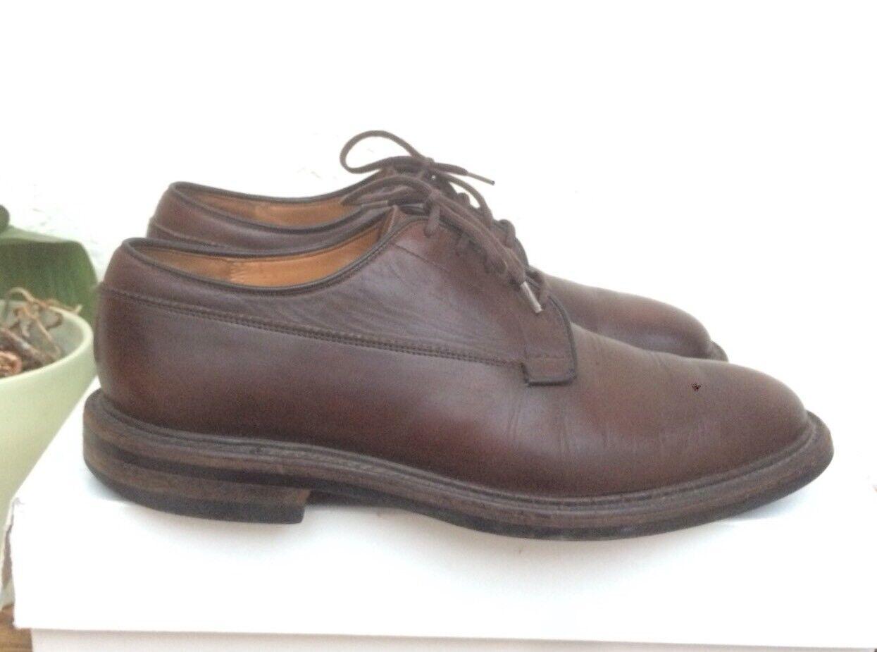 Chaussures Church's Deal Uk 7 F 41 Cuir Marron Dainite Sole England