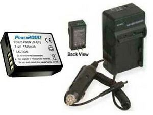 Battery-Charger-for-Canon-SLR-EOS-REBEL-T3-1100D-1100DKISB-5108B002-Camera