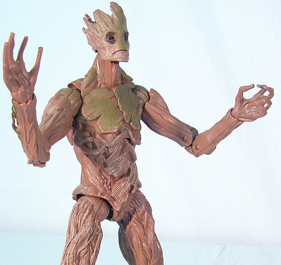 Groot - marvel - legenden hter der galaxie baf build-a-figure - komplett - hasbro