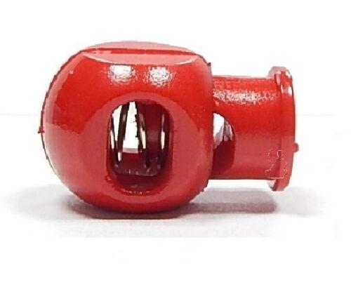 Cordon butées Cube 1-trou//rouge 2.00 EUR//pièce