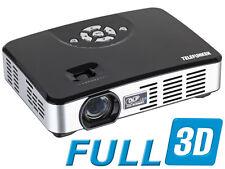 Mini Full 3D LED Projektor DLP500 Telefunken
