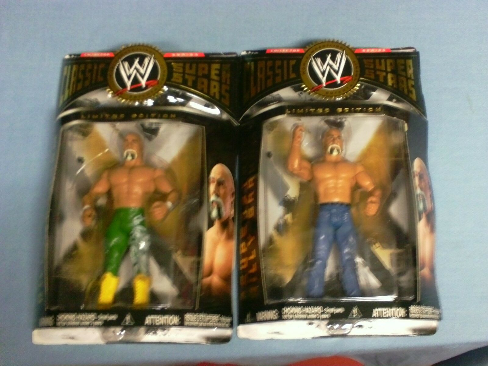 WWE CLASSIC SUPERSTARS SUPERSTAR LIMITED EDITION BILLY GRAHAM Set OF 3