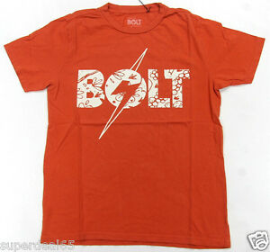 Lightning Bolt T Shirt Floral Bolt Tee Burnt Ochre Retro Vintage Styled USA