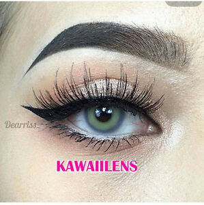 Kontaktlinsen Color Contact Lenses Soft Power Makeup Lens  Sweety Spatax Gray