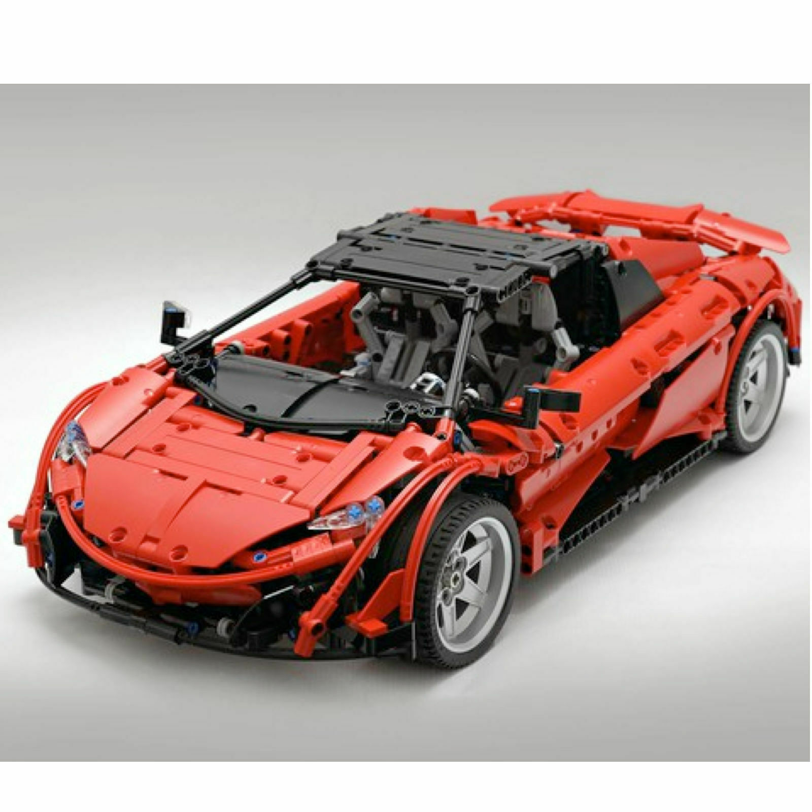 McLaren 675 LT Spindelröd superbil Egen moc-6331 Technic Building Blocks